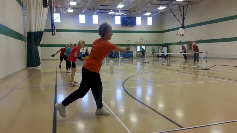 Pickleball at Woodside Bible Church