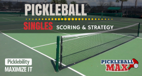 Pickleball Singles — Scoring & Strategy
