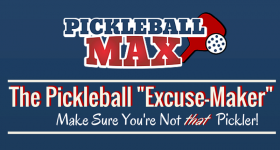 """Infographic – The Pickleball """"Excuse-Maker"""" – Make Sure You're Not that Pickler!"""