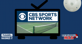 CBS Sports Network — Pickleball Television Coverage