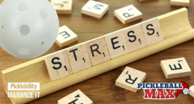 Manage Stress Playing Pickleball!