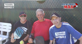 Pickleball in Florida in March — I Love it!