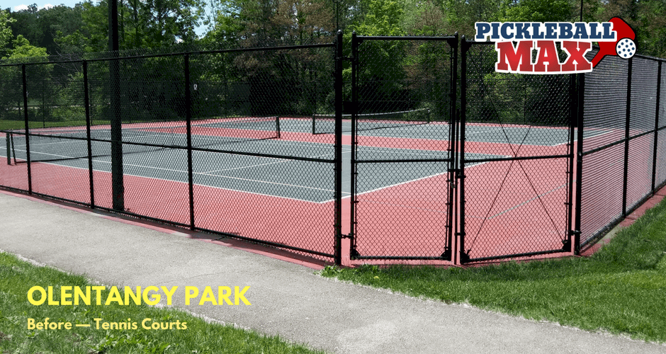 Olentangy Park - Tennis Courts (Before)