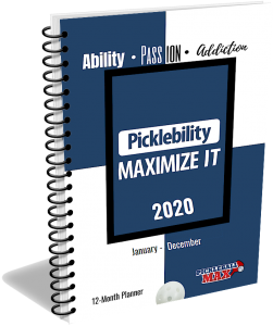 2020 Pickleball Planner