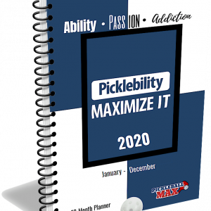 Pickleball Planner & Calendar