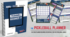 New Product Launch — The Pickleball Planner