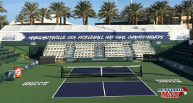 Live Stream of Championship Court at 2018 USA Pickleball National Championships at Indian Wells Tennis Garden