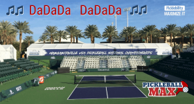 Pickleball on ESPN3 & ESPNEWS — ♫ ♫ DaDaDa DaDaDa ♫ ♫