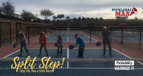 Pickleball Split Step – Balance, Baby!!!