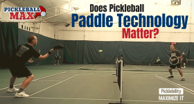 Does Pickleball Paddle Technology Matter?