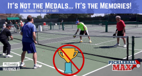 Pickleball Medals & Memories