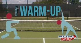 Pickleball Warm-up Drill