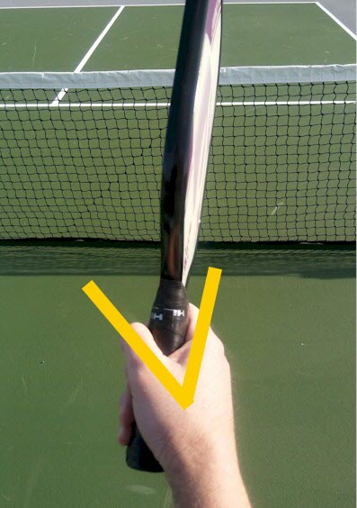 pickleball forehand grip