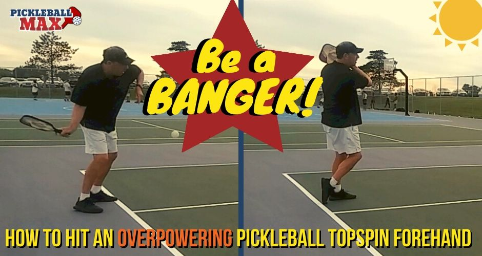 Pickleball Topspin Forehand