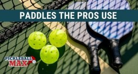 pro pickleball paddles