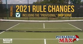 Pickleball Rules Changes - 2021