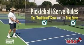 Pickleball Serve Rules