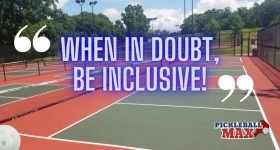 When in Doubt, be Inclusive